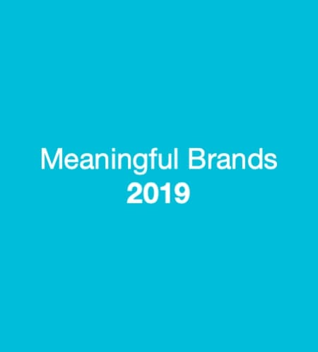 Meaningful Brands 2019